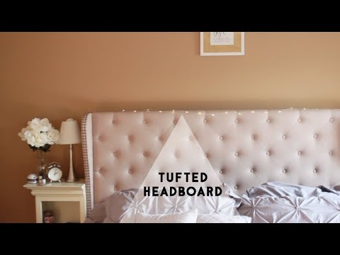 Affordable Tufted Headboard
