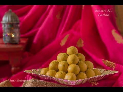 Besan Ke Ladoo  Diwali recipes  How to make Besan Ladoo by Chef Smita