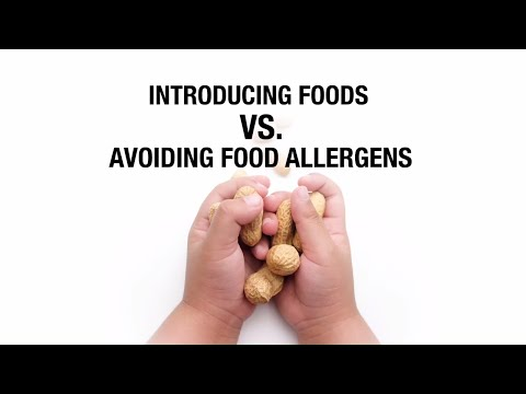 Introducing Foods vs  Avoiding Foods Allergens