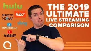 Download Ultimate Streaming TV Comparison | TV, Hulu Live, Sling, DIRECTV NOW, PS VUE, FuboTV Video