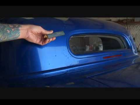 Automotive Refinishing-How To Remove Runs and Drips From Your Paint Job.