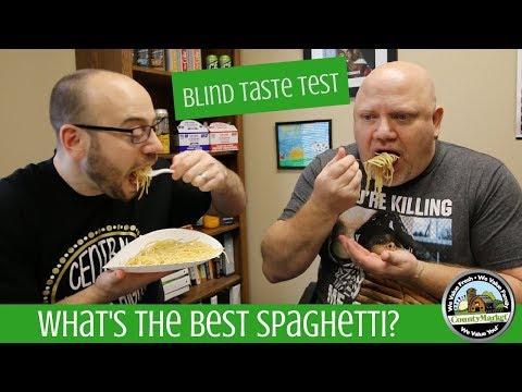 What's the Best Tasting Spaghetti? Blind Taste Test