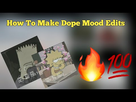 How To Make Dope Mood Edits W// Shawn