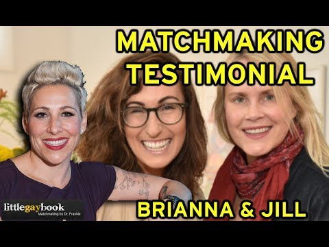 Lesbian Matchmaking: Testimonial from a matched couple [full 18 min video]
