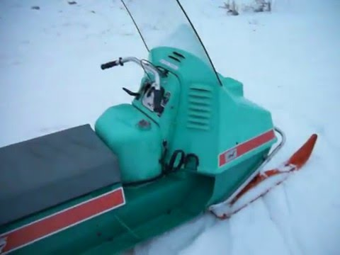 MY 1970 JOHNSON SKEEHORSE SNOWMOBILE!!!!!