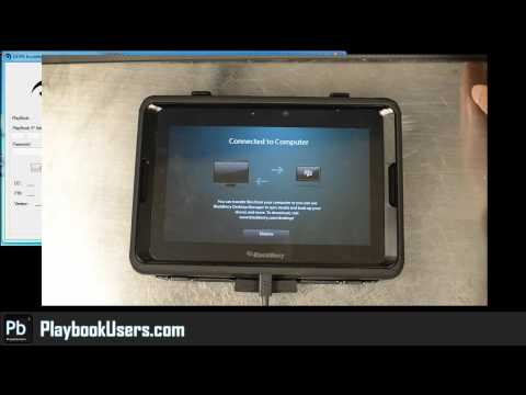 PlaybookUsers.com - Installing Android Apps on Your Blackberry Playbook (demonstration)