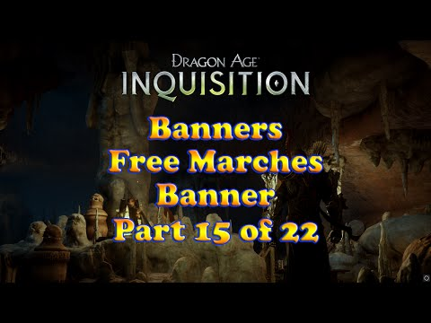 Dragon Age: Inquisition - Free Marches Banner - Banners Collection - Skyhold Customizations