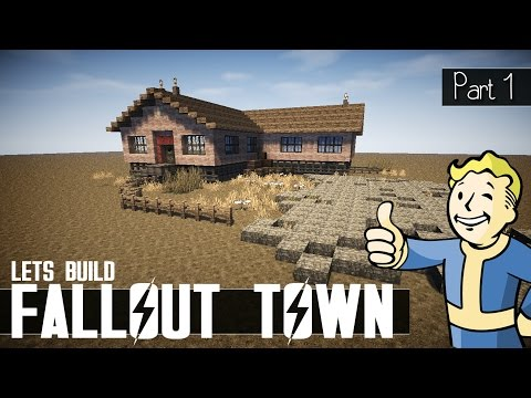 Fallout Town - Minecraft Let's Build - Part 1