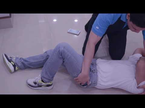 How to place an unconscious person in recovery position