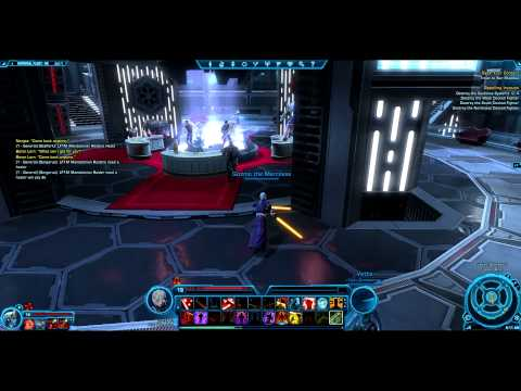 SWTOR: How to get to the sith VIP lounge in swtor