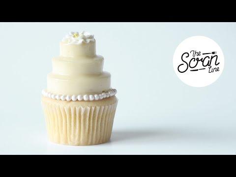 WEDDING CAKE CUPCAKES - The Scran Line