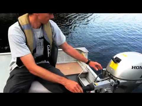 Boat Motor Basics pull start