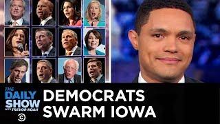Joe Biden Reverses Course on the Hyde Amendment & Democratic Candidates Swarm Iowa   The Daily Show