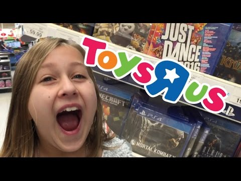 VIDEO GAME SHOPPING AT TOYSRUS on Christmas Eve! Target Too!