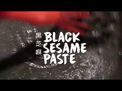 DIY Black Sesame Paste
