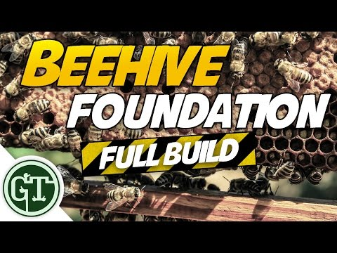 The Apiary - Getting Started   Full foundation Build, Journey to Beekeeping eps 1