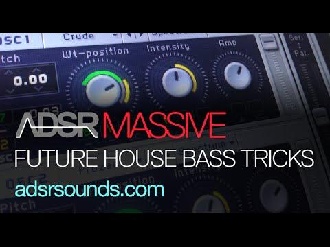 Future House Bass Tips and Tricks - NI Massive tutorial
