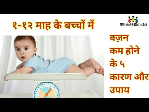 Reason for poor weight in babies  बच्चों में वज़न बढाने के उपाय