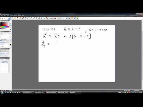 Constrained Optimization: The Lagrangian Method of Maximizing Consumer Utility