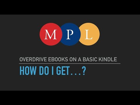 How to use OverDrive eBooks on your Amazon Kindle