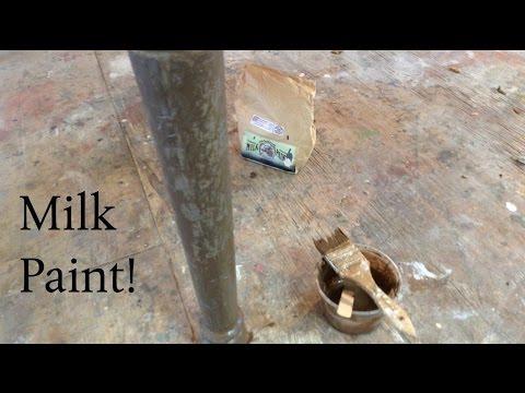 How I use Milk Paint