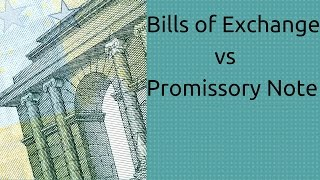 Difference Between Bills of Exchange vs Promissory Note | Accounting | CA CPT | CS & CMA | Class11
