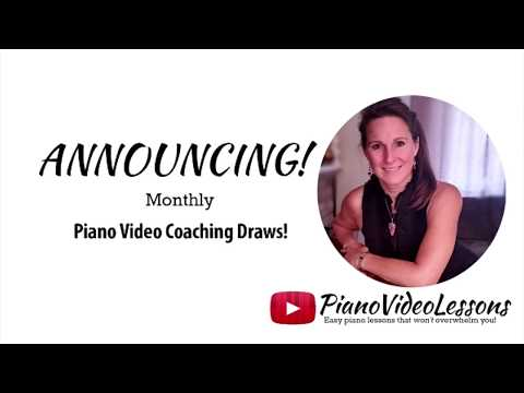 Winner of Skype Piano Lesson Draw - April 2018