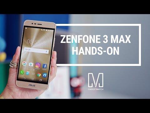 Asus Zenfone 3 Max Hands-On