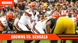 Browns Prep for High Powered Bengals Offense | Browns Hot Minute