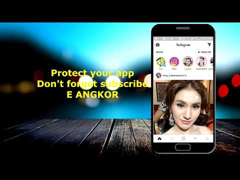 AppLock - How to protect password on app of your Android phone