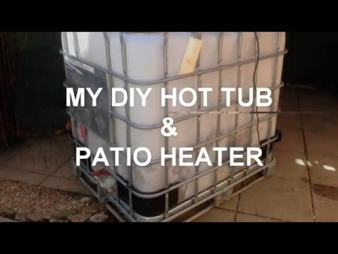 How to build a DIY Hillbilly IBC hot tub