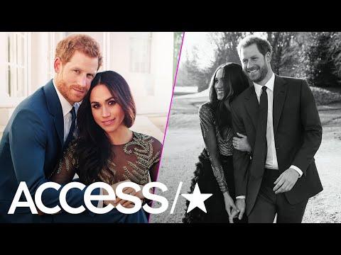 Prince Harry & Meghan Markle: How Their Engagement Photos Break All The Royal Rules | Access
