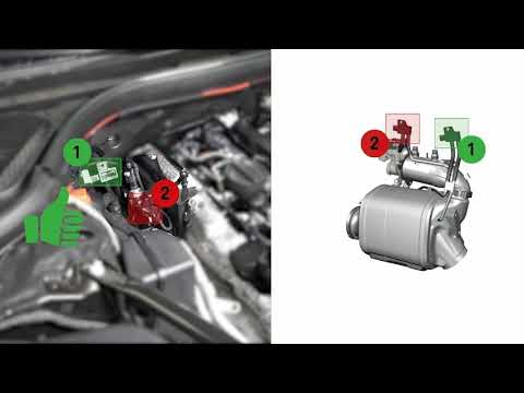 BMW DPF Clean diesel particulate filter - cleaning