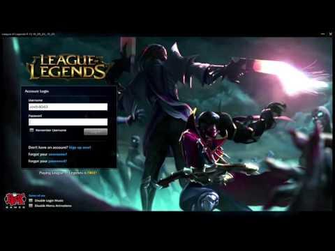 Night Hunters (Vayne + Lucian) - Custom Login Screen League of Legends