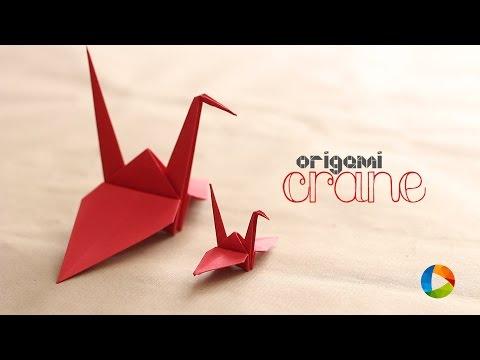 How to Make : Origami Crane