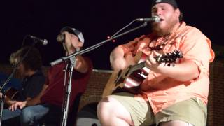 "Luke Combs - ""Can I Get An Outlaw"" (8-16-14 Evans, GA)"