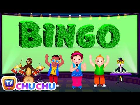 Bingo Dog Song - Nursery Rhymes Karaoke Songs For Children | ChuChu TV Rock 'n' Roll