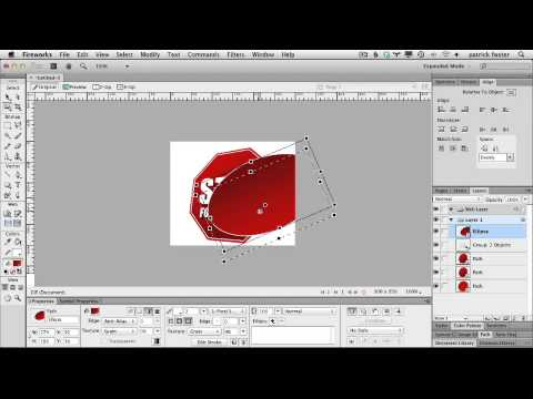 Create a banner ad in Adobe Fireworks CS6