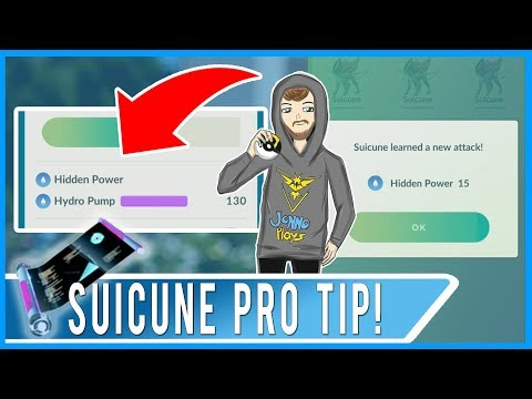DO NOT TRANSFER SUICUNE UNTIL YOU SEE THIS VIDEO! Hidden Power Water Type Learned By Fast TM!