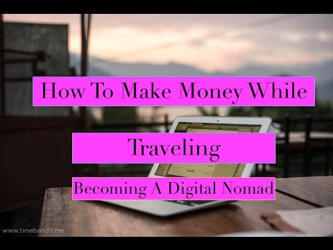 Make Money Online..How To Make Money While Traveling..Work From Home..Make Money While Traveling