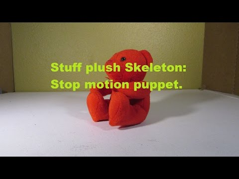 How to make stop motion puppets