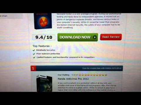 Top 10 Antivirus in the world!!! 2012