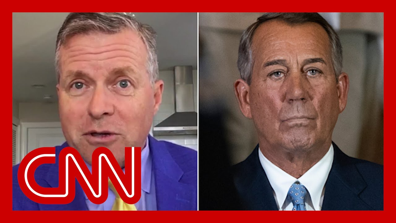 Ex-lawmaker reacts to Boehner's new bombshells about GOP