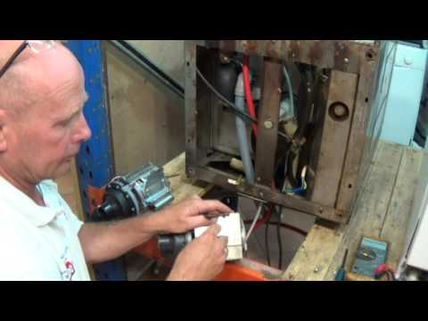 How to replace a pump on a commercial glass washer dishwasher