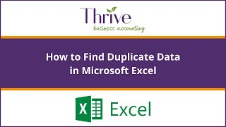 How To Find Duplicate Data In Excel
