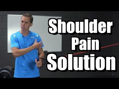 90 Second Shoulder Pain Solution - Tennis Serve - Lessons and Instruction
