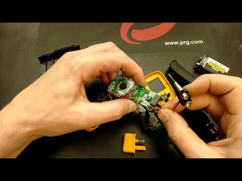 A look inside a non contact infrared thermometer.