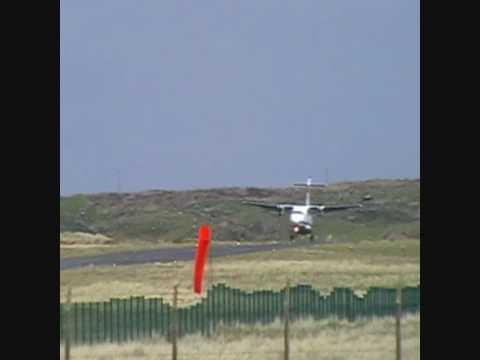 ATR 42 Landing Donegal Airport HD