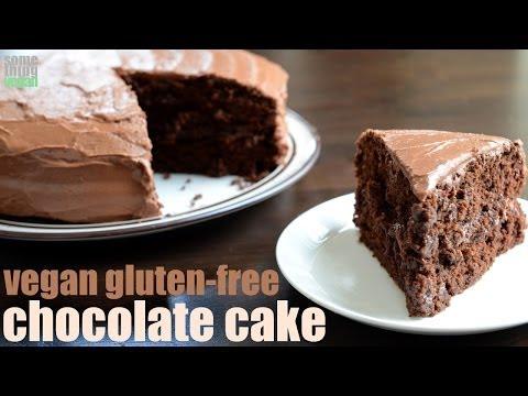 classic chocolate cake (vegan and gluten free) Something Vegan
