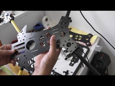 How to assemble OFM Reptile 650 Quadcopter Part 1